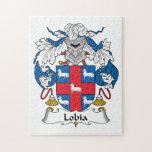 Escudo de la familia de Lobia Puzzles