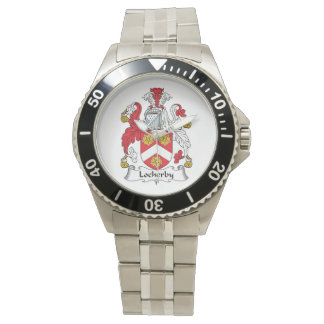 Escudo de la familia de Locherby Relojes De Pulsera