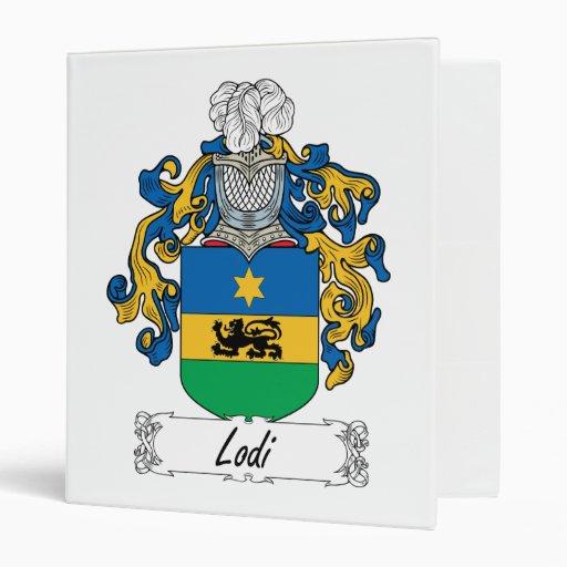 Escudo de la familia de Lodi
