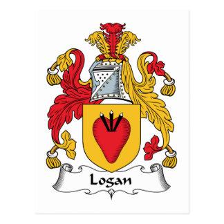 Escudo de la familia de Logan Postal