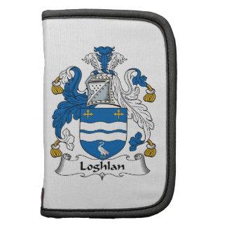 Escudo de la familia de Loghlin Organizador