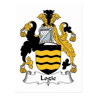 Escudo de la familia de Logie Postales