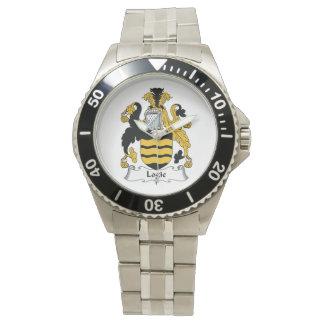 Escudo de la familia de Logie Reloj
