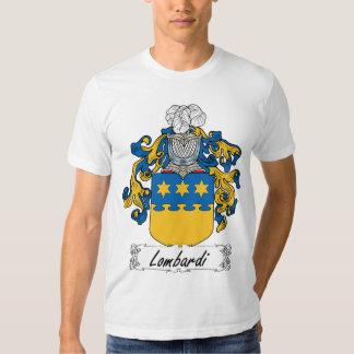 Escudo de la familia de Lombardi Remera