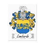 Escudo de la familia de Lombardo Impresion De Lienzo