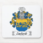 Escudo de la familia de Lombardo Tapetes De Raton