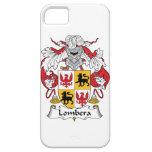 Escudo de la familia de Lombera iPhone 5 Cárcasa