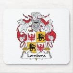 Escudo de la familia de Lombera Alfombrillas De Ratón