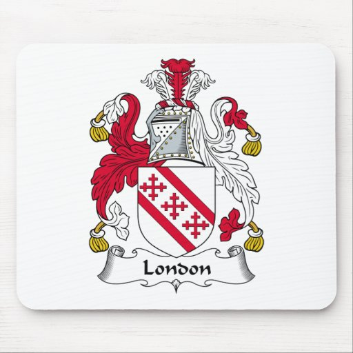 Escudo de la familia de Londres Mousepad