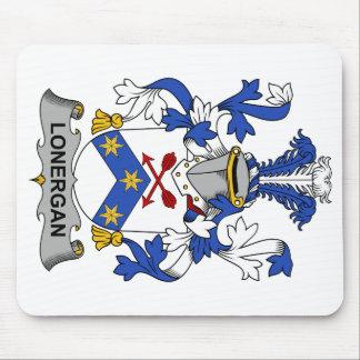 Escudo de la familia de Lonergan Tapete De Ratones