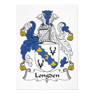 Escudo de la familia de Longden Comunicado Personal