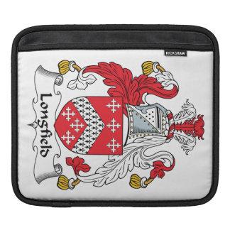 Escudo de la familia de Longfield Fundas Para iPads