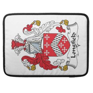 Escudo de la familia de Longfield Funda Macbook Pro