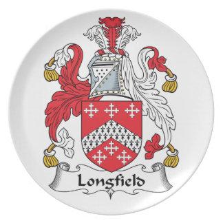 Escudo de la familia de Longfield Plato
