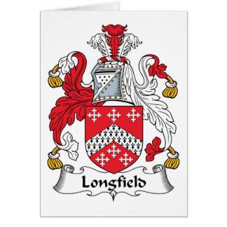 Escudo de la familia de Longfield Tarjetas