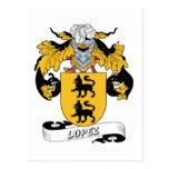 Escudo de la familia de López Postal