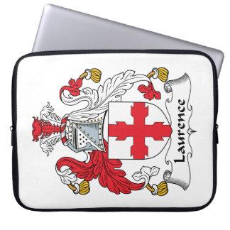 Escudo de la familia de Lorenza Funda Portátil