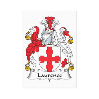 Escudo de la familia de Lorenza Impresion De Lienzo