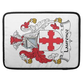 Escudo de la familia de Lorenza Fundas Para Macbooks