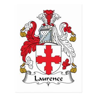 Escudo de la familia de Lorenza Postal