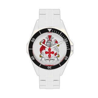 Escudo de la familia de Lorenza Relojes