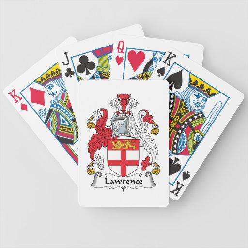 Escudo de la familia de Lorenzo Baraja Cartas De Poker