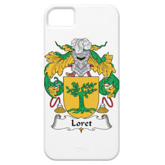 Escudo de la familia de Loret iPhone 5 Protector