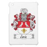 Escudo de la familia de Loria iPad Mini Coberturas