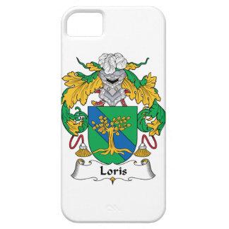 Escudo de la familia de Loris iPhone 5 Funda