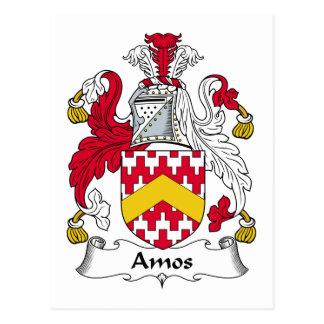 Escudo de la familia de los Amos Postales