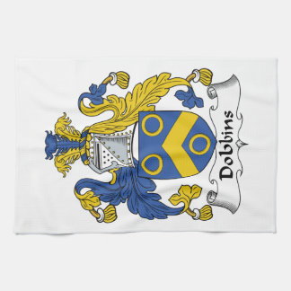 Escudo de la familia de los caballos de labor toalla