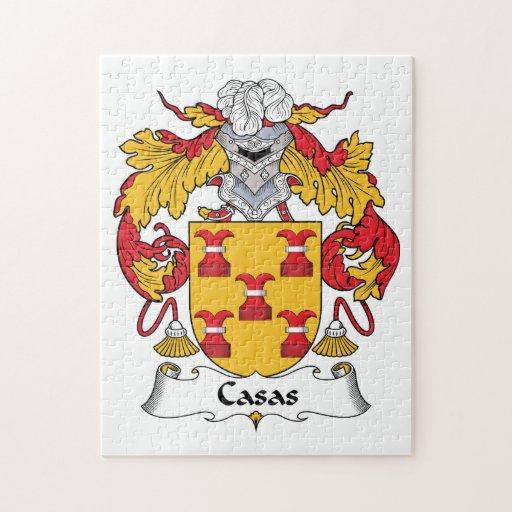 Escudo de la familia de los Casas Puzzles Con Fotos