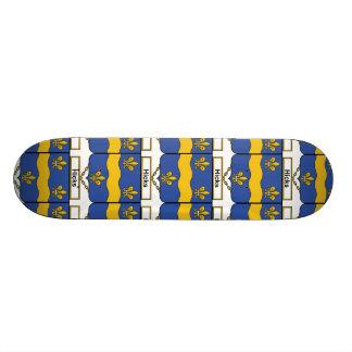 Escudo de la familia de los catetos patinetas personalizadas