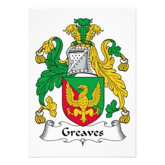 Escudo de la familia de los chicharrones invitacion personalizada