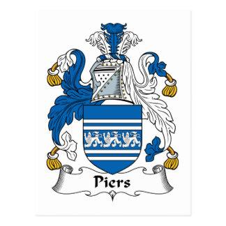 Escudo de la familia de los embarcaderos postales
