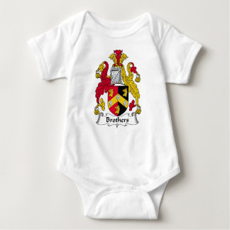 Escudo de la familia de los hermanos body para bebé