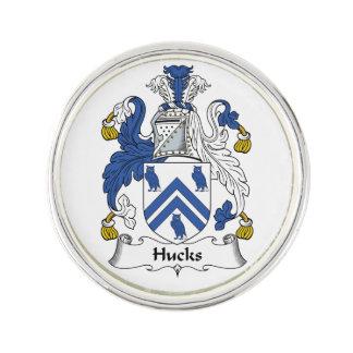 Escudo de la familia de los Hucks Pin