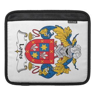 Escudo de la familia de los medios galopes funda para iPads