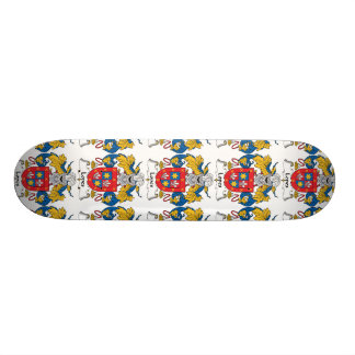 Escudo de la familia de los medios galopes tabla de skate