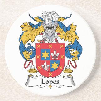 Escudo de la familia de los medios galopes posavasos manualidades