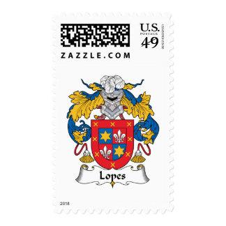 Escudo de la familia de los medios galopes sellos