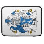 Escudo de la familia de los molinos fundas macbook pro