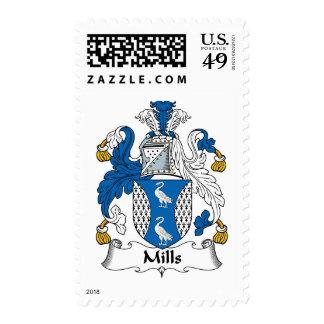 Escudo de la familia de los molinos sellos