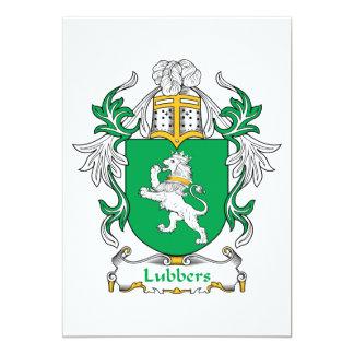 """Escudo de la familia de los patanes invitación 5"""" x 7"""""""