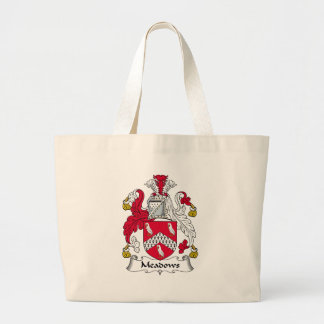 Escudo de la familia de los prados bolsas de mano