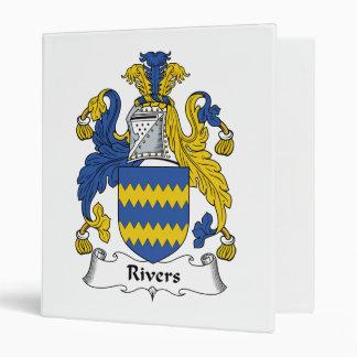 Escudo de la familia de los ríos