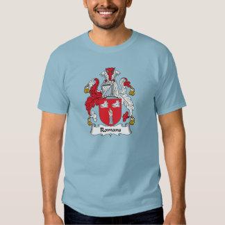 Escudo de la familia de los romanos camisas