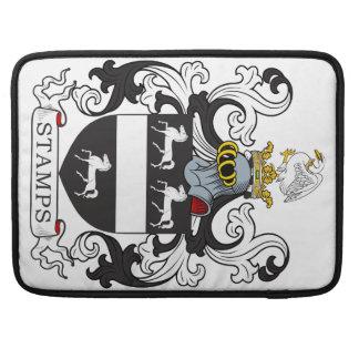 Escudo de la familia de los sellos fundas macbook pro
