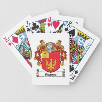 Escudo de la familia de los sepulcros barajas de cartas