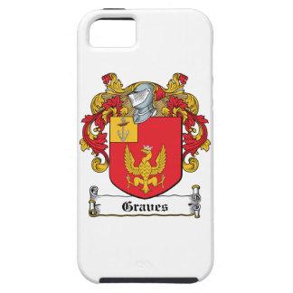 Escudo de la familia de los sepulcros iPhone 5 coberturas